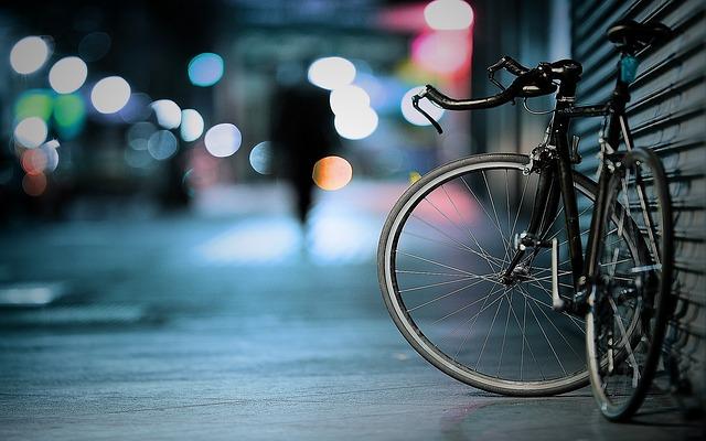 opřené kolo