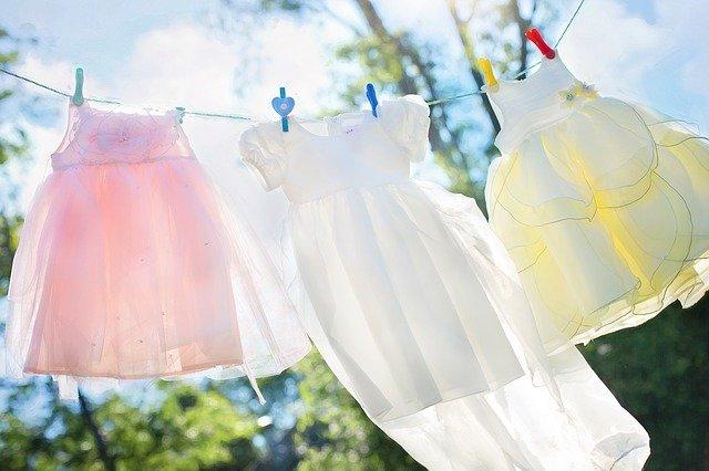 prádelní šňůra na šatičky