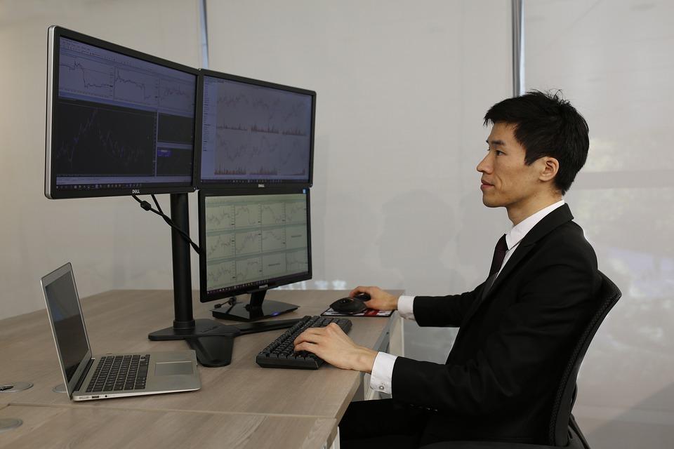 práce s počítači
